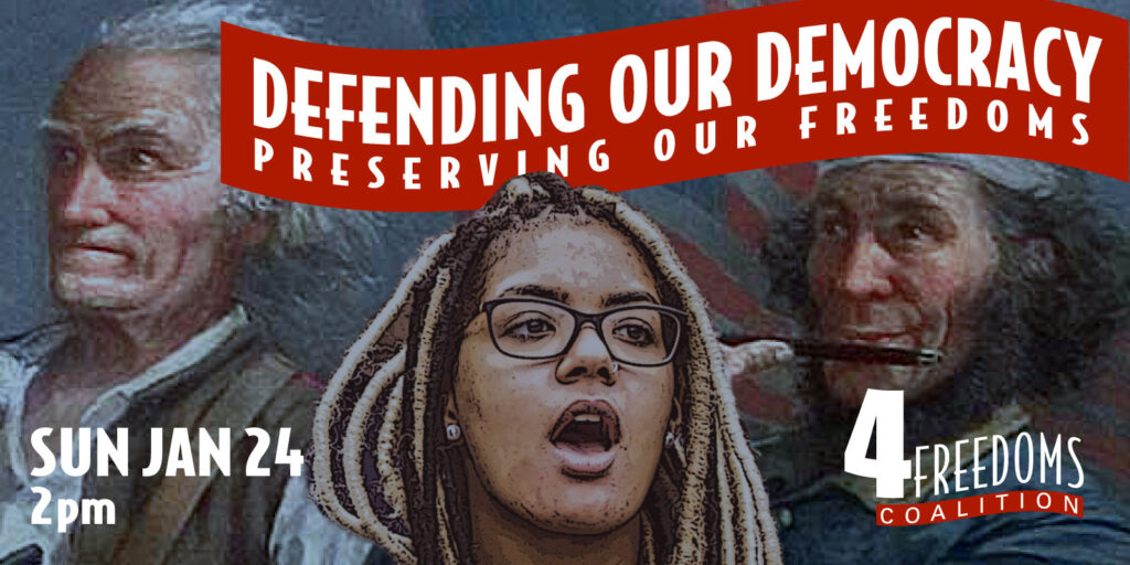 Defending Our Democracy Banner